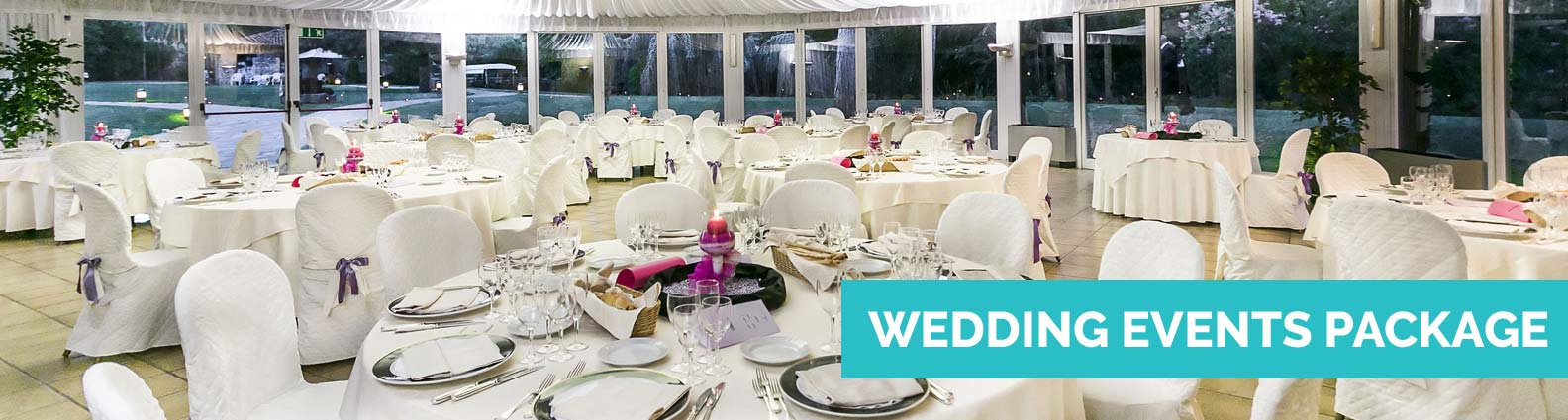 View Wedding Events Packages