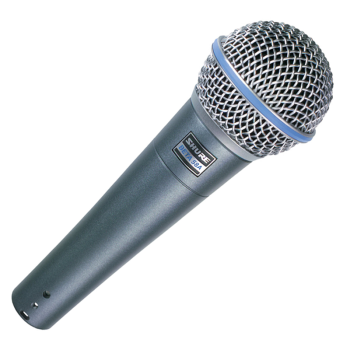Shure BETA-58A Supercardioid Dynamic Vocal Mic