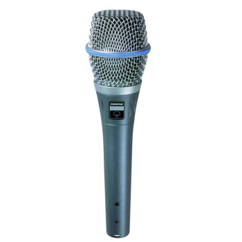 Shure BETA-87 Small Diaphragm Vocal Performance Mic