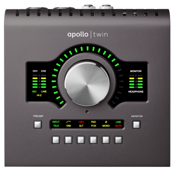 Universal Audio APOLLOTWINDUOII 10 x 6 Thunderbolt Audio Interface