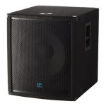 "Yorkville YX18SP 500w Powered 18"" Subwoofer"