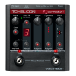 Tcelectronic CORRECTXT Vocal Effects & Pitch Correction