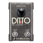 Tcelectronic DITTOMICLOOPER Looper For Vocals and Mic'd Intstruments