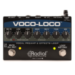 Radial VOCOLOCO Vocal Preamp and Effects Loop