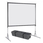 Vutec PF072096MW 6x8FRONT Front Projection Screen with Fast Fold Frame