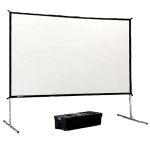 Da-Lite 9X12DUAL 9'X12' Dual Projection Screen with Fast Fold Frame