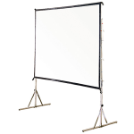 Vutec PF072096MW 9 X 12 Front Projection Screen with Fast Fold Frame