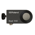 ROLAND RT-30HR Dual Zone Drum Trigger for Drum Rims