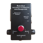 Fire-Eye RI-3 Acoustic Preamp & DI
