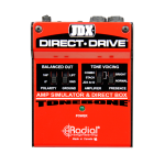 Radial JDXDIRECTDRIVE Guitar Amp Simulater / Direct Box