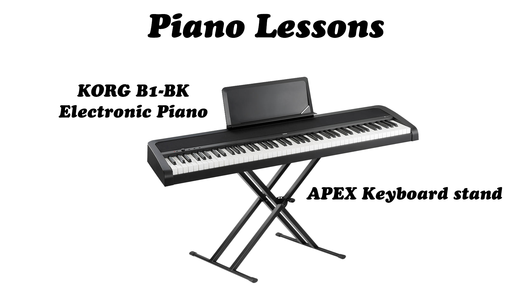 Piano Lessons Package