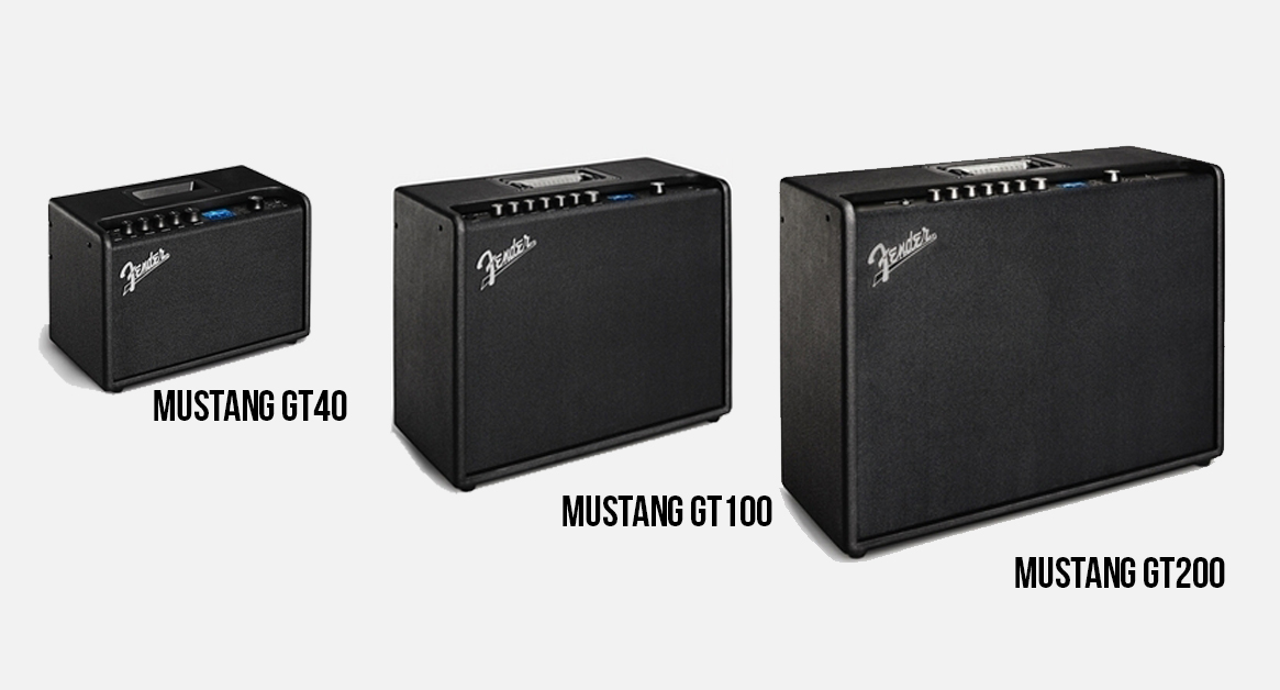 three mustang GT amps