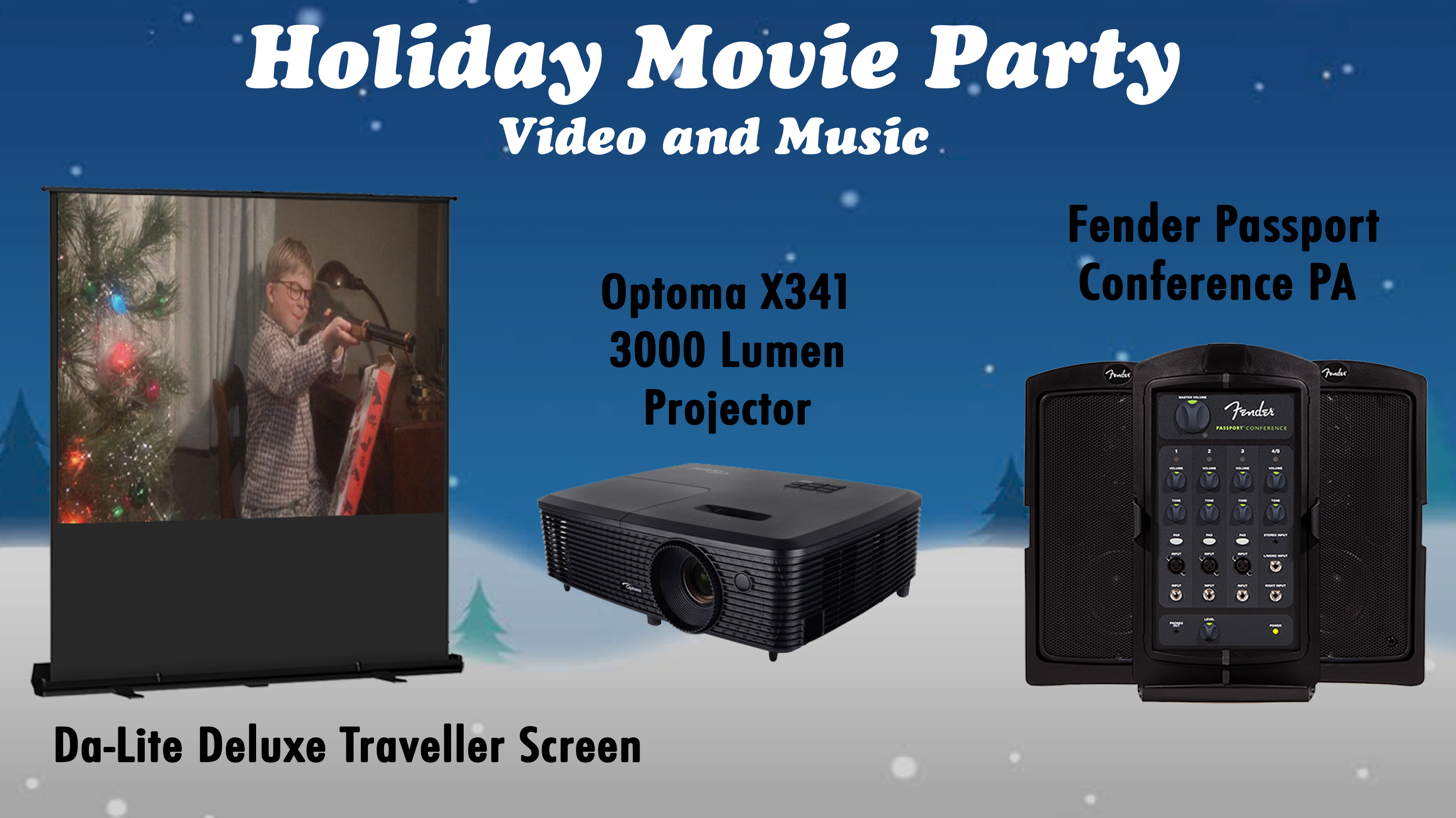 Holiday Movie Party