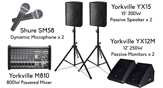 Live Band Event Packages Live Band Equipment In Austin Tx