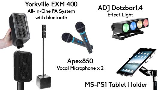 Event Rental Equipment | Karaoke Party Packages | Rock n Roll Rentals