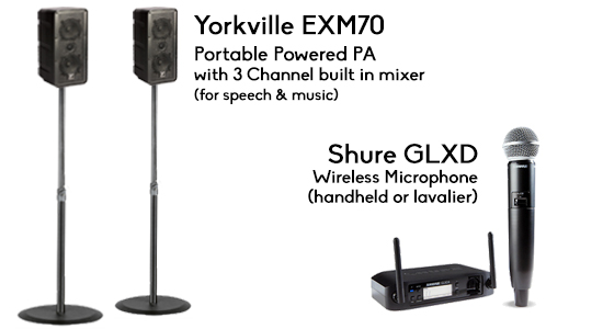Wedding Speakers Sound PA Rental Ceremony and Reception in