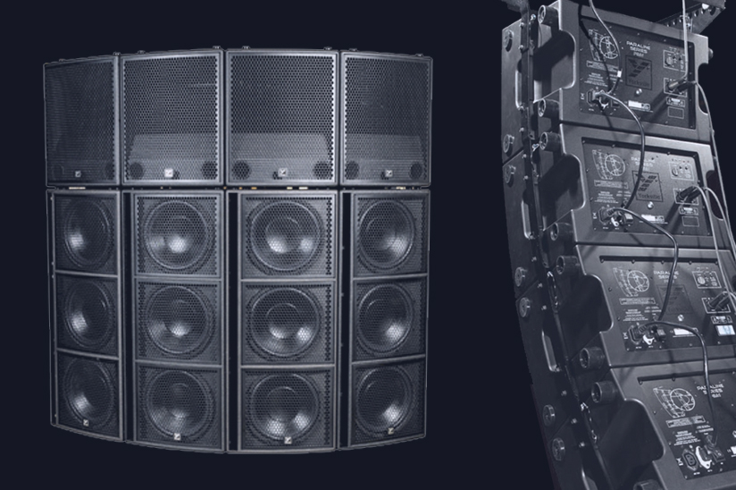 Line Array Pro-PA System Equipment Rental Packages