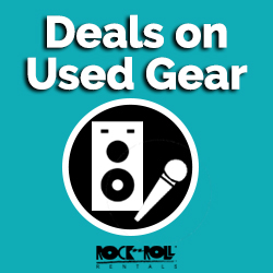Shop Used Rock N Roll Rentals Gear Online