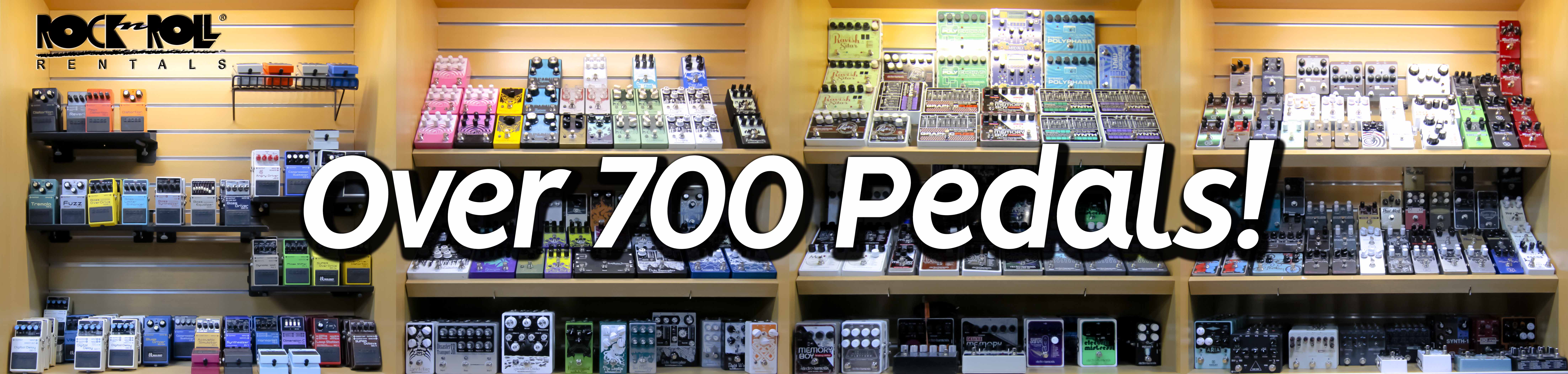 Browse over 700 FX Pedals