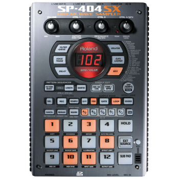 Boss SP-404SX Portable Sampler w/Effects