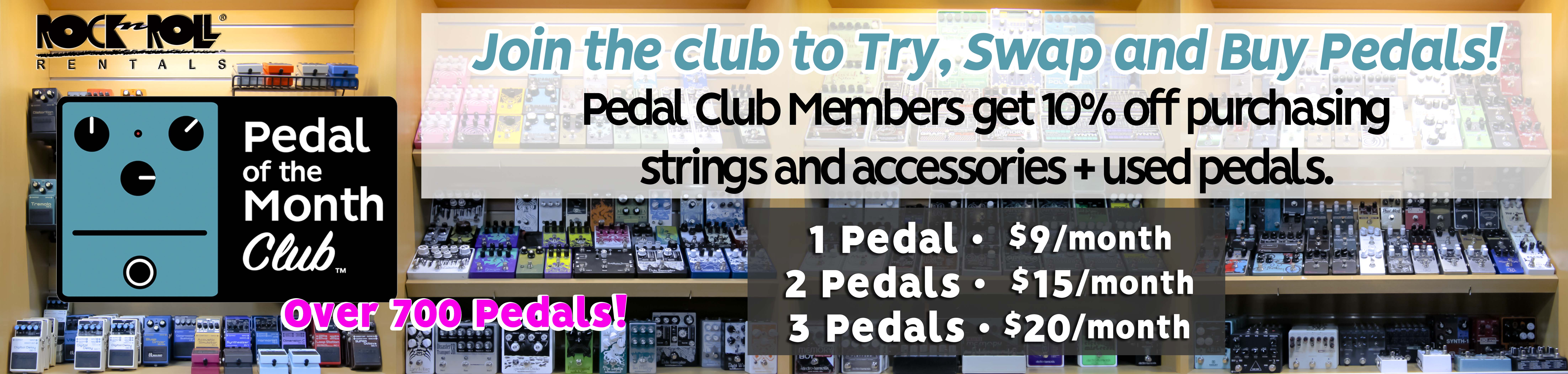 Pedal of the Month Club 2020