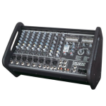 Yorkville M1610 10ch. Powered Mixer (2x800watts)