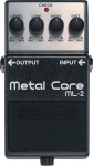 Boss ML-2 Metal Core Pedals