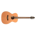 Seagull S6 Series Cedar Concert Hall Size Acoustic Guitar with Electronics (040445)