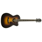 Fender Deluxe Triple O Sized Grand Auditorium Acoustic Guitar with Electronics (PM-3DELUXE)