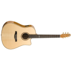 "Seagull Artist Series ""Cameo"" Cutaway Acoustic Guitar with Custom Electronics (033461)"
