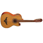 Oscar Schmidt Solid Cedar-Top Acoustic Bajo Quinto with Electronics (OH42SE)