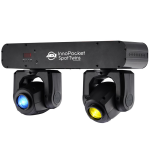 American DJ Dual Mini Moving-Head Lights (POCKETSPOTTWINS)