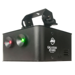 ADJ GAL176 Galaxian3dMK2 Shower of Green & Red Lasers