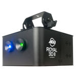 ADJ ROY177 Rotating Blue & Green Lasers with UV