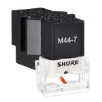 Shure M44-7 Phono Cartridge w/Stylus & Headshell