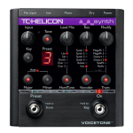 Tcelectronic SYNTH Vocal Effects Pedal