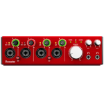 Focusrite CLARETT4PRE 18x8 Thunderbolt Audio Interface
