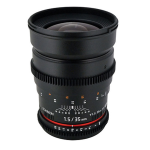 Rokinon CV35-C 35mm T1.5 Wide Angle Lens