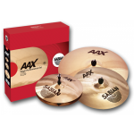 Sabian AAXR20 AA, AAX, HH or HHX Cymbal Performance Pack (Ride, Crash and Hats)