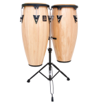 LPA646 LP Aspire Wood Congas with Double Stand