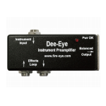 Fire-Eye DEE-EYE Active DI Preamp for Acoustic Instruments