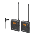 Sennheiser EK100G3 Wireless Camera Pack Lavalier System w/ Diversity Bodypack Receiver