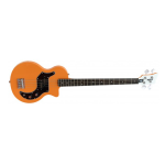 Orange O-Bass Vintage Style Single Cutaway (O-BASS)