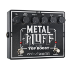 Electroharmonix  Metalmuff with Top Boost