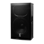 "Yorkville EF15P 15"" 1200w Elite Powered Cabinet"