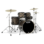 PDP PDMA2215P8 Silver Level Mainstage Hardwood or Birch 5-piece Drum Kit