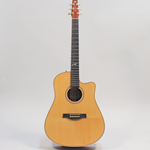 "Seagull Artist Series ""Studio"" Cutaway Acoustic Guitar with Deluxe Electronics (041572)"