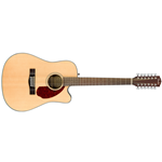 Fender Dreadnought Series 12-String Cutaway Acoustic Guitar with Electronics (CD-140SCE-12)