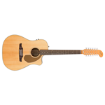 Fender Newporter Dreadnought 12-String  Cutaway Acoustic Guitar with Electronics (VILLAGER)