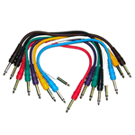 "TS 1/4"" Patch Cable 8-Pack"